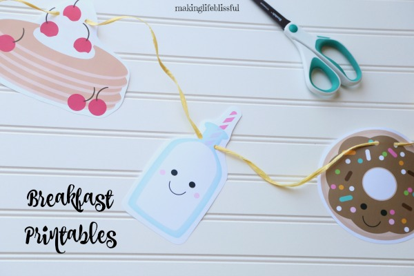 Pancakes and Pajama Party Printables