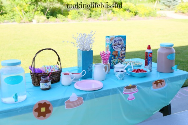 Pancakes and Pajama Party Ideas