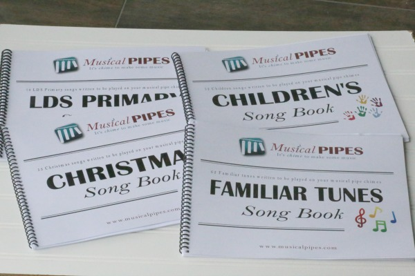 Musical Pipe Chimes Music Books