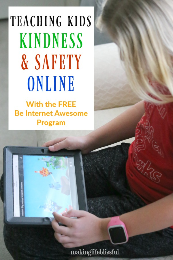 How to teach kids to be kind and safe on the internet
