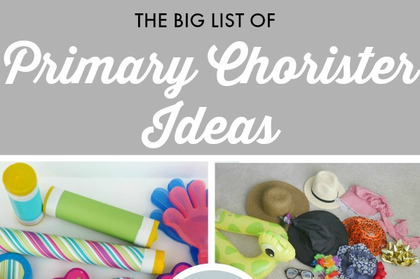 The BIG List of Primary Singing Time Ideas