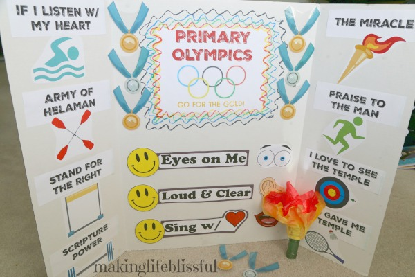 Olympics Singing Time Game for Kids