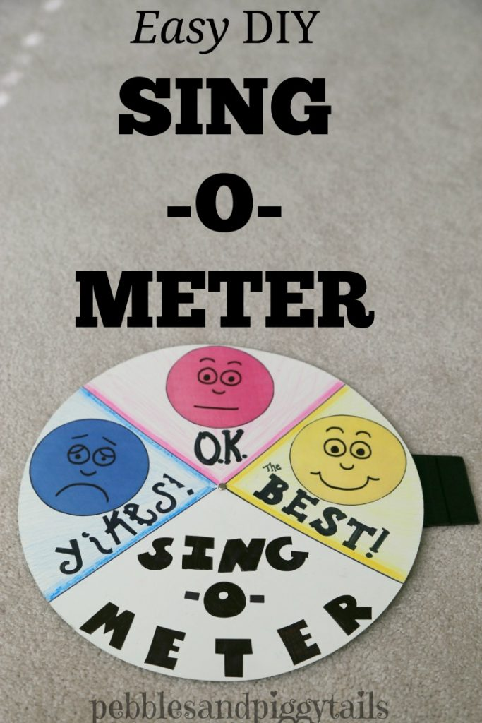 Sing-O-Meter for Primary music time