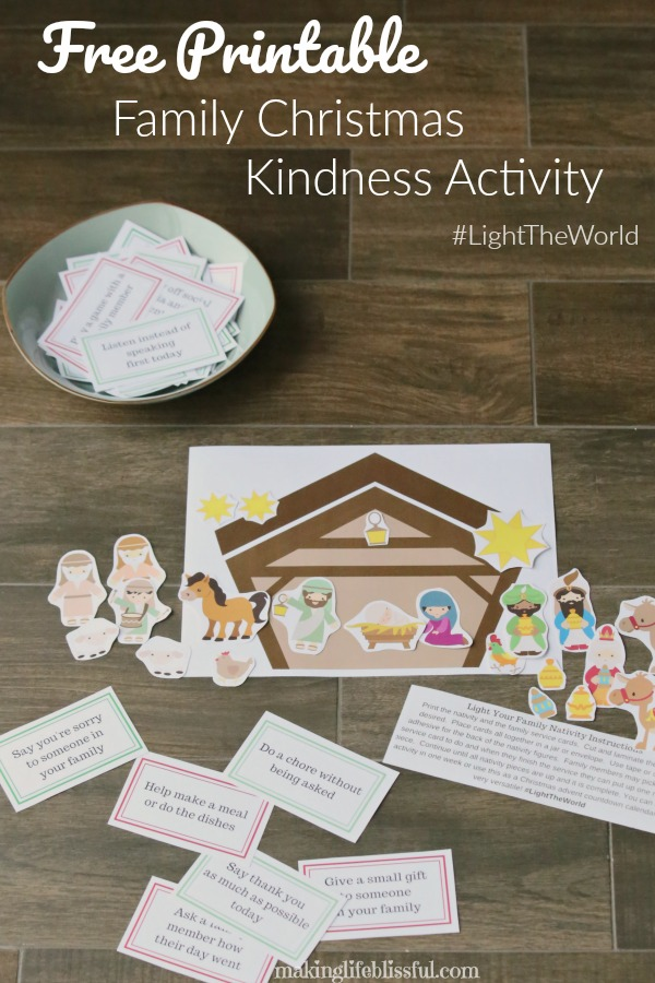 Free Printable Christmas Kindness Activity for Families