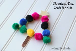 Christmas Tree Kids Craft 4