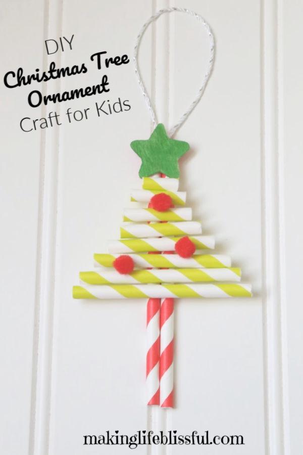 Christmas=Tree-Straw-Craft-for-kids