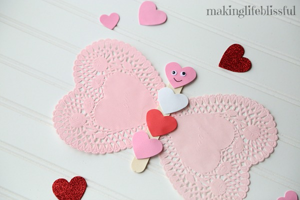 Easy Doily Crafts For Kids Making Life Blissful