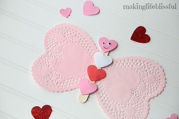 Valentine Doily Craft Ideas for Kids