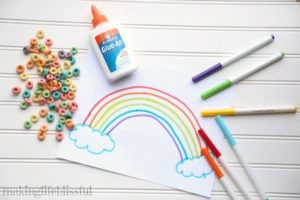 Rainbow Cereal Craft
