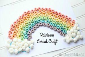 Rainbow Cereal Craft
