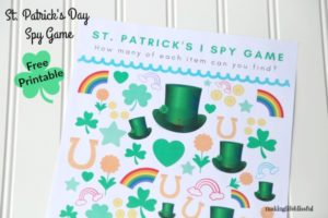 St Patricks Day free Printable Games For Kids 2