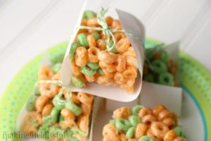 St. Patricks Day Cereal Treats 8
