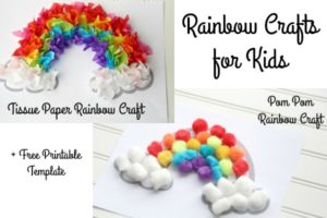easy rainbow crafts for kids 3