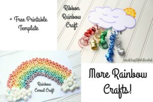 easy rainbow crafts for kids 4