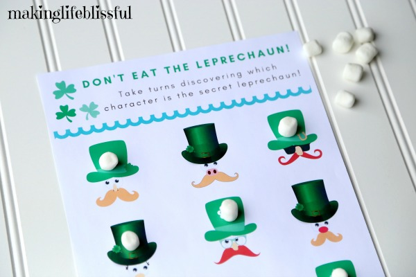 Printable Don't Eat The Leprechaun