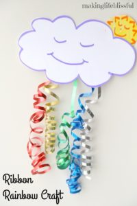 Ribbon Rainbow Craft