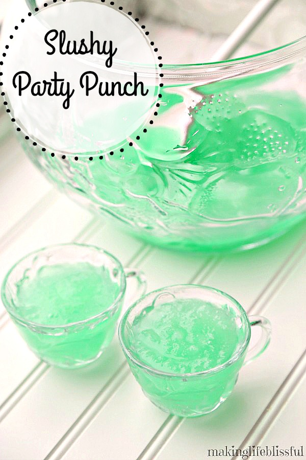 Limeade Slushy Party Punch Recipe