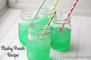 Limeade Slushy Punch Recipe