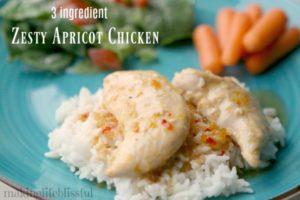3 ingredient Apricot Chicken 2