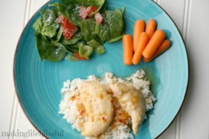 Zesty Apricot Chicken recipe with just 3 ingredents