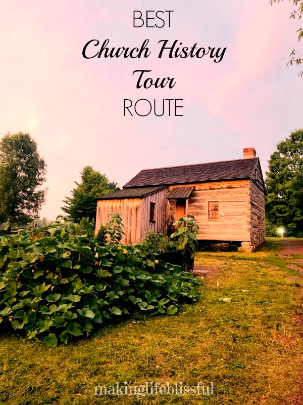 Best Church History Road Trip Route