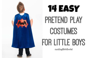 Easy costume ideas for little boys