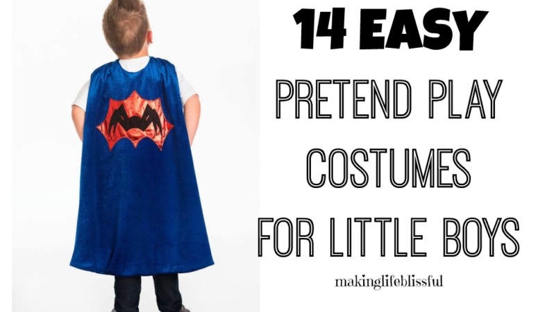 14 Pretend Play Costumes for Little Boys