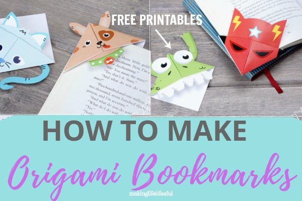 Origami Cat Bookmark (Jo Nakashima) [multi-language] - YouTube | 400x600