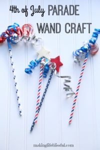 Easy 4th of July craft for kids to make