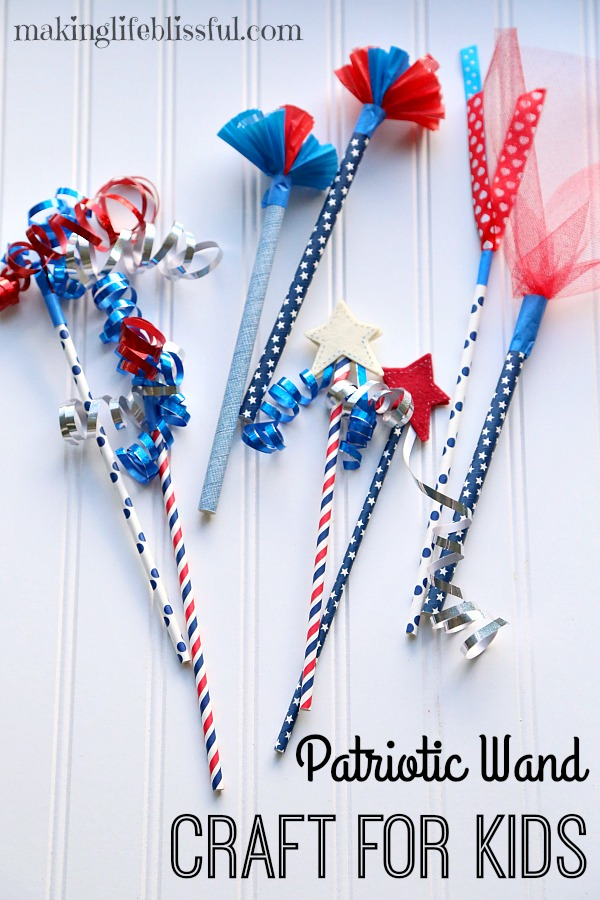 4th of july wand craft 2