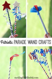 Wave these fun wands at the 4th of July parade!