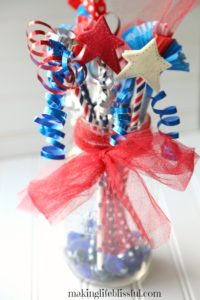 Easy patriotic kids craft wands