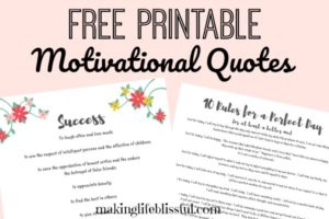 free printable motivational quotes