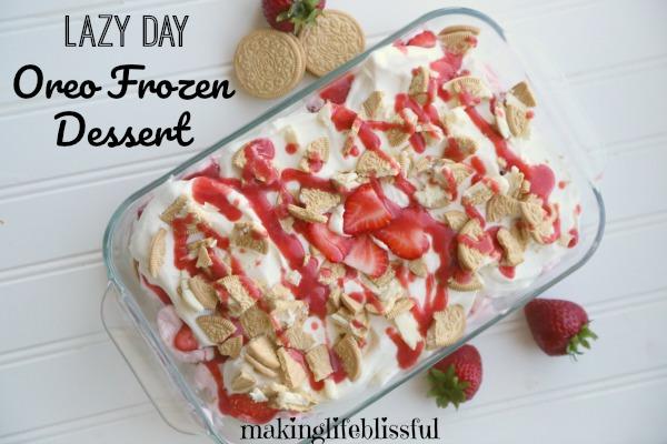 frozen oreo icebox dessert 4