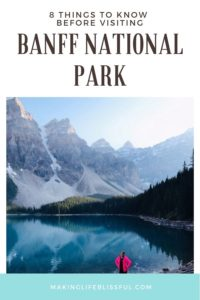 BANFF TRAVEL TIPS