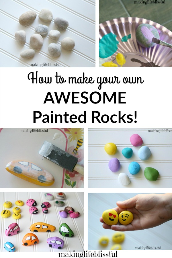 How to make easy painted rocks