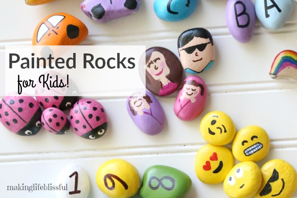 Painted Rock Ideas to Teach Kids