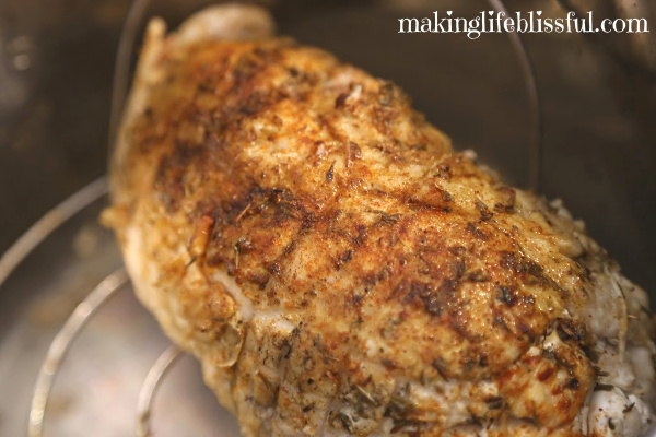 How to roast a turkey in your Instant Pot