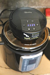 air fryer for pressure cooker