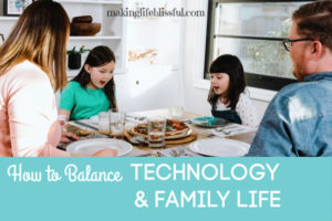 balance tech with family 6