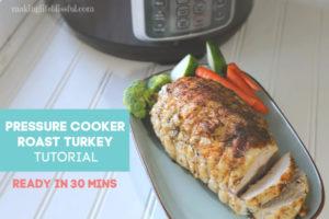 pressure cooker roast turkey