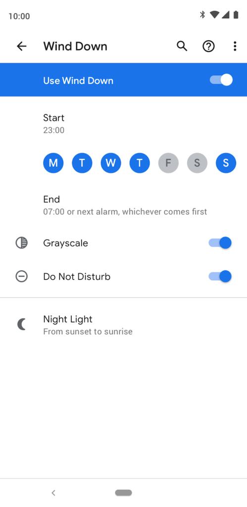 Google's Digital wellbeing tools