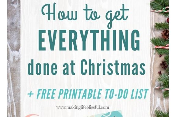 Using Lists to Prepare for Christmas + FREE PRINTABLE