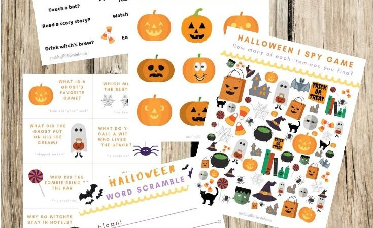 Tons of Halloween and Fall Printables