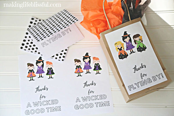 Witch Party Printables and Decor
