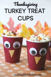 thanksgiving treat cups