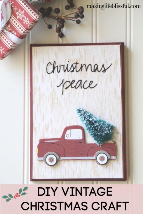 diy-christmas-vintage-truck-sign