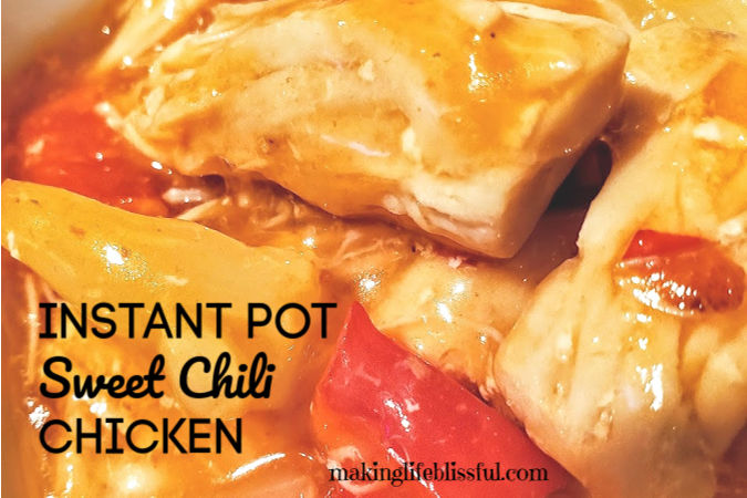 Instant Pot Sweet Chili Chicken