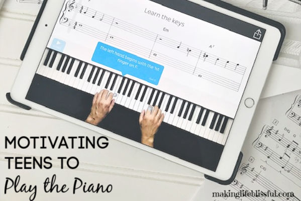 How to Motivate Teens to Practice the Piano