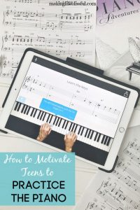 piano tips for teens